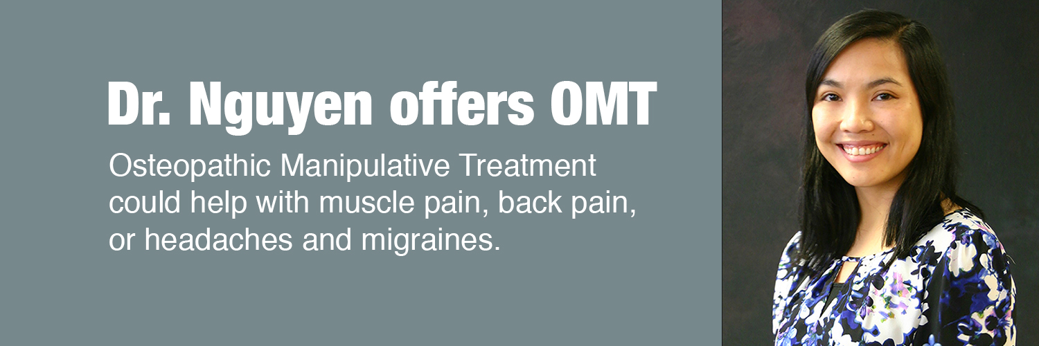 Dr. Nguyen Offers OMT
